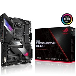 Asus ROG CROSSHAIR VIII HERO AMD X570 AM4 Motherboard Reviews