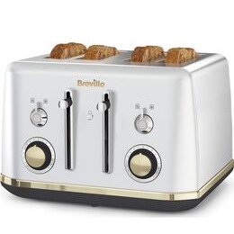 BREVILLE Mostra VTT929 4-Slice Toaster - Silver Reviews