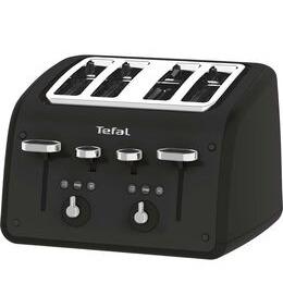 Tefal Retra TF700N40 4-Slice Toaster - Matt Black Reviews