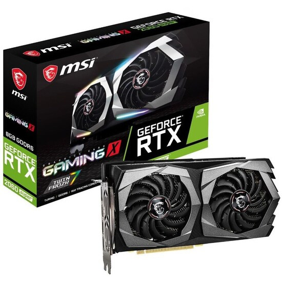 MSI GeForce RTX 2060 8 GB SUPER GAMING X Graphics Card