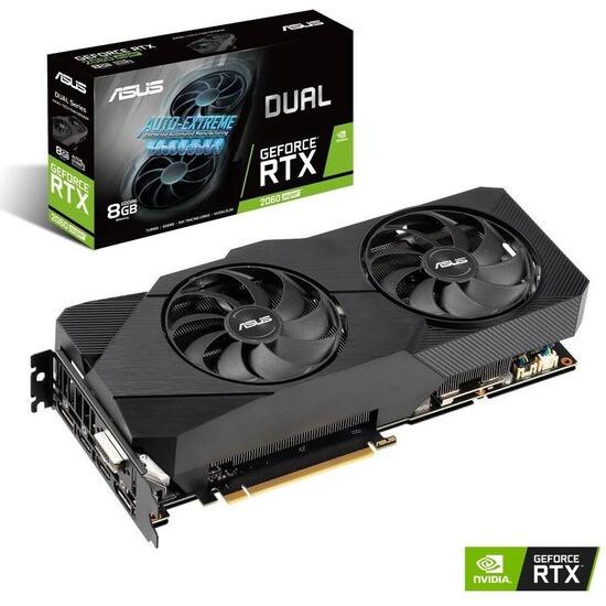 Gigabyte GeForce RTX 2060 Super 8 GB Dual Evo Graphics Card