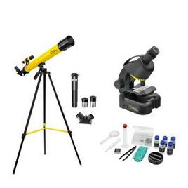 National Geographic 50/600 Telescope, Microscope 640x & Smartphone Adapter Kit Reviews