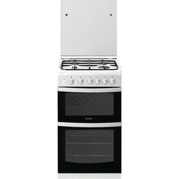 Indesit ID5G00KCW 50 cm Gas Cooker - White Reviews