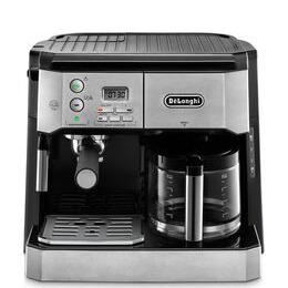 De'Longhi Combi BCO431.S Filter Coffee Machine - Silver & Black Reviews