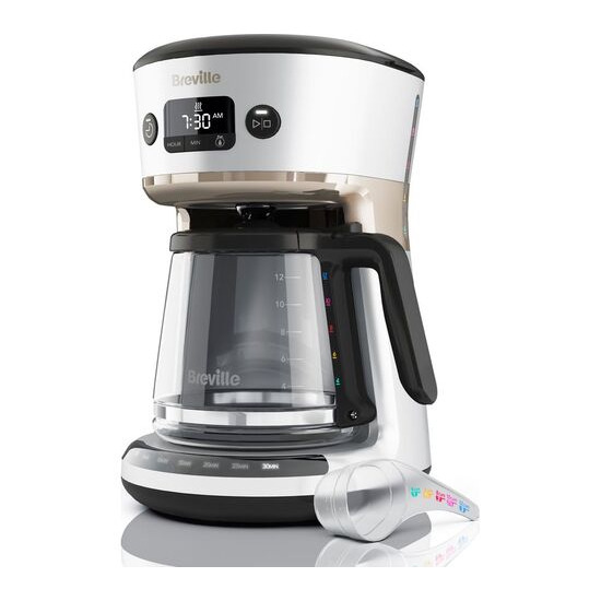 BREVILLE Mostra Easy Measure Filter Coffee Machine VCF115 - Silver