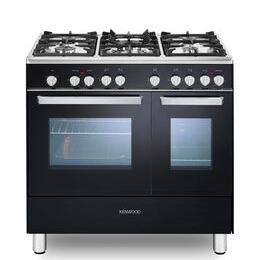Kenwood CK406 90 cm Dual Fuel Range Cooker - Black & Chrome Reviews