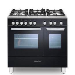 Kenwood CK407G 90 cm Gas Range Cooker - Black & Chrome Reviews