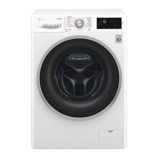 LG FWJ685WS NFC 8 kg Washer Dryer - White