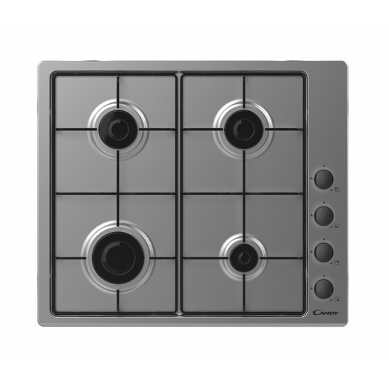Candy CHW6LBX Gas Hob - Stainless Steel
