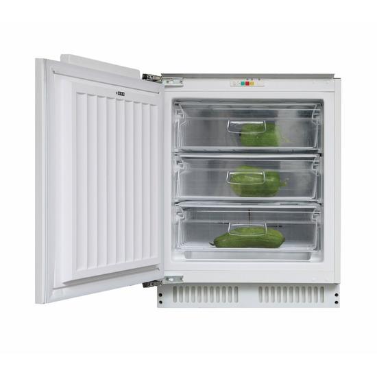 Candy CFU 135 NEK Integrated Undercounter Freezer - Fixed Hinge