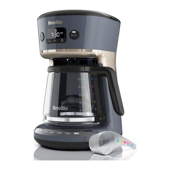 BREVILLE Mostra Easy Measure VCF114 Filter Coffee Machine - Grey