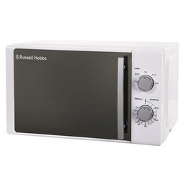 Russell Hobbs RHM2060 Compact Solo Microwave - White Reviews