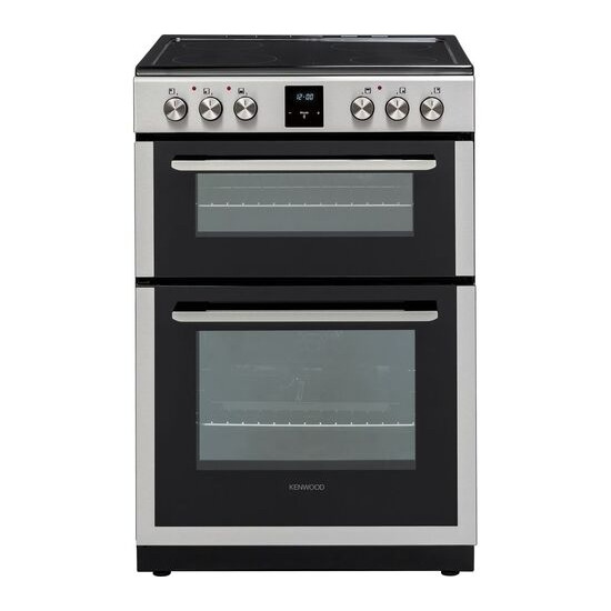 Kenwood KDC66SS19 60 cm Electric Ceramic Cooker - Stainless Steel