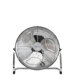 Pro-Elec 14 High Velocity Chrome Floor Standing Fan 3 Speed Settings