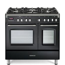 Kenwood CK435BL 90 cm Dual Fuel Range Cooker - Black & Stainless Steel Reviews