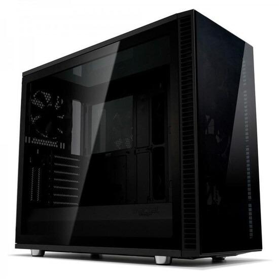 Fractal Design Define S2 Vision Blackout E-ATX Mid-Tower PC Case