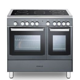 Kenwood CK418SL 90 cm Electric Ceramic Range Cooker - Slate Grey & Chrome Reviews
