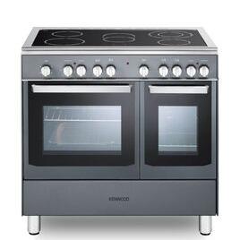 Kenwood CK418SL 90 cm Electric Ceramic Range Cooker - Slate Grey & Chrome Reviews