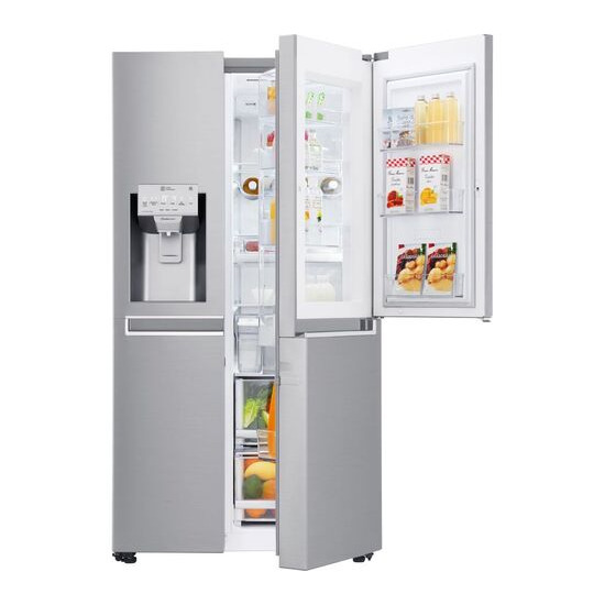LG GSJ961NSVV American-Style Smart Fridge Freezer - Steel