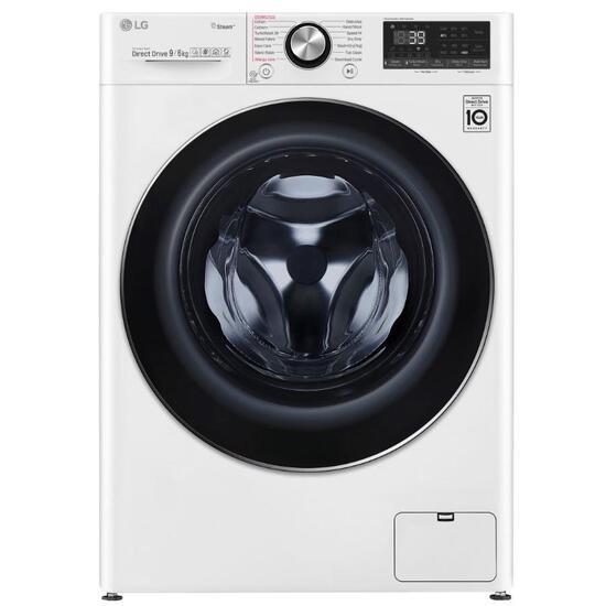 LG V9 FWV996WTS WiFi-enabled 9 kg Washer Dryer - White