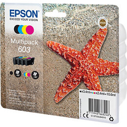 Epson 603 Starfish Cyan, Magenta, Yellow & Black Ink Cartridges - Multipack Reviews