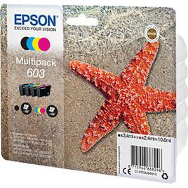 Epson 603 Starfish Cyan, Magenta, Yellow & Black Ink Cartridges - Multipack Reviews