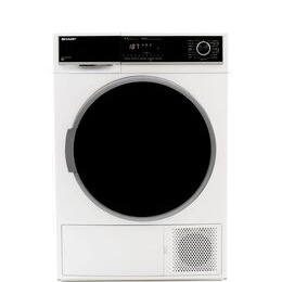 SHARP KD-HHH9S7GW2-EN 9 kg Heat Pump Tumble Dryer - White Reviews