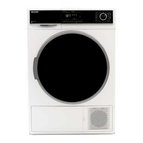 SHARP KD-HHH9S7GW2-EN 9 kg Heat Pump Tumble Dryer - White