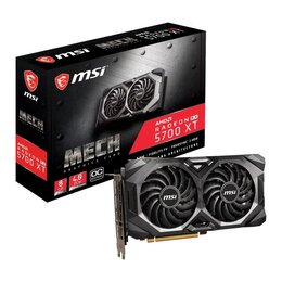 MSI Radeon RX 5700 XT 8 GB Mech OC Graphics Card Reviews