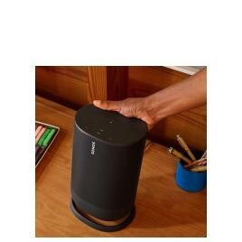 Sonos Move Portable Wireless Multi-room Speaker with Google Assistant & Amazon Alexa - Black Reviews
