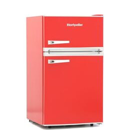 Montpellier Retro MAB2031R Undercounter Fridge Freezer - Red Reviews