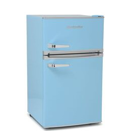 Montpellier Retro MAB2031PB Undercounter Fridge Freezer - Blue Reviews