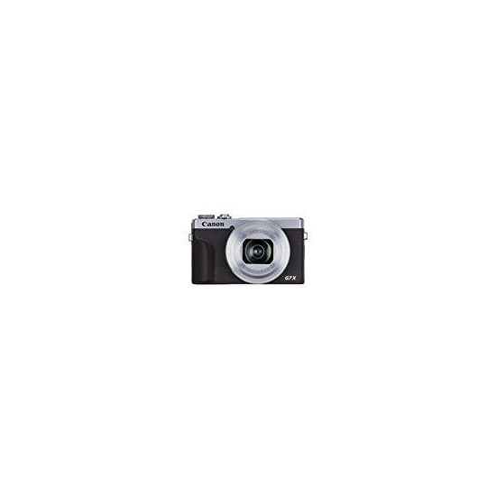 Canon PowerShot G7 X Mark III High Performance Compact Camera - Silver