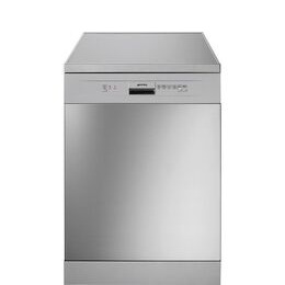 SMEG DFD13E2X Full-size Dishwasher - Stainless Steel & Silver Reviews