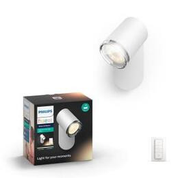 Philips Hue Adore White Ambiance Bathroom Spot Light - White