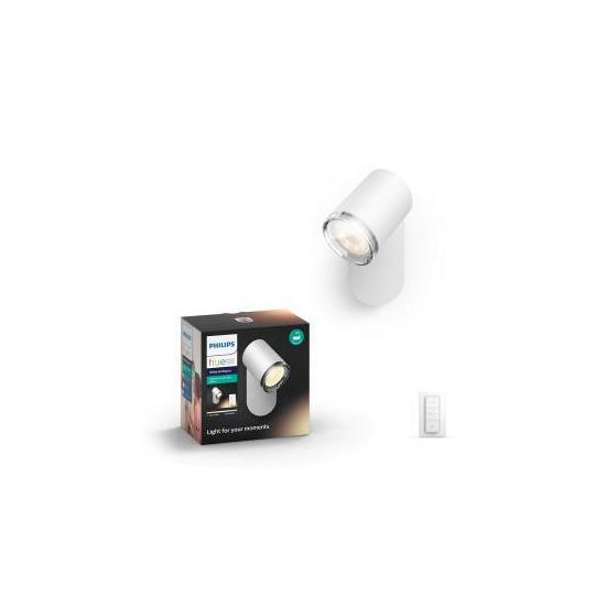 Philips Hue Adore White Ambiance Bathroom Spot Light - White