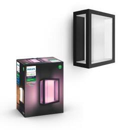 Philips Hue Impress Outdoor Wall Lantern - Wide