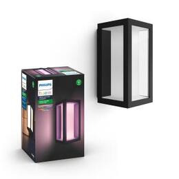 Philips Hue Impress Outdoor Wall Lantern - Slim