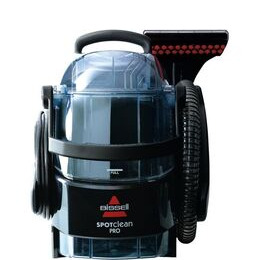 BISSELL SpotClean Pro 1558E Cylinder Carpet Cleaner - Titanium Reviews