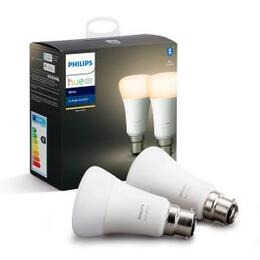 Philips Hue White Bluetooth LED Bulb - B22, Twin Pack Reviews