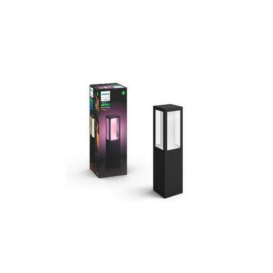 Philips Hue Impress Outdoor Pedestal Light - Black