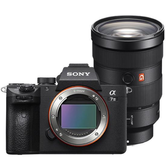 Sony Alpha A7 Mark III with FE 24-70mm f2.8 GM Lens kit