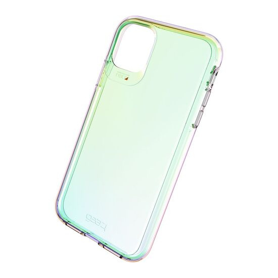 Gear4 Crystal Palace iPhone 11 Clear View Case - Iridescent