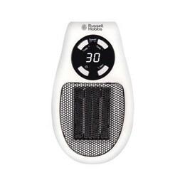 Russell Hobbs RHPH2001 Ceramic Plug Heater - Black & White