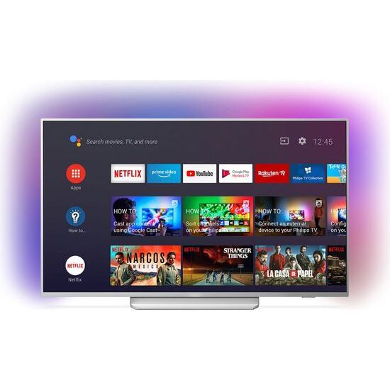 Philips Ambilight 55PUS8204/12 55 Smart 4K Ultra HD HDR LED TV with Google Assistant