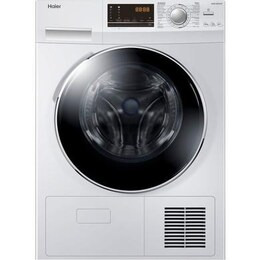 Haier HD90-A636 9 kg Heat Pump Tumble Dryer - White
