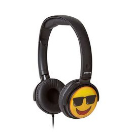 Groov-e GV-EMJ15 EarMOJI's Cool Face Kids Headphones - Black Reviews