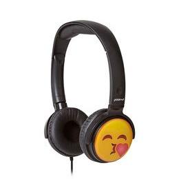 Groov-e GV-EMJ14 EarMOJI's Kissing Face Kids Headphones - Black