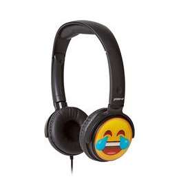 Groov-e GV-EMJ12 EarMOJI's Laughing Face Kids Headphones - Black