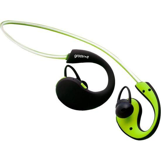 Groov-e Action GV-BT800-GN Wireless Bluetooth Sport Headphones - Green